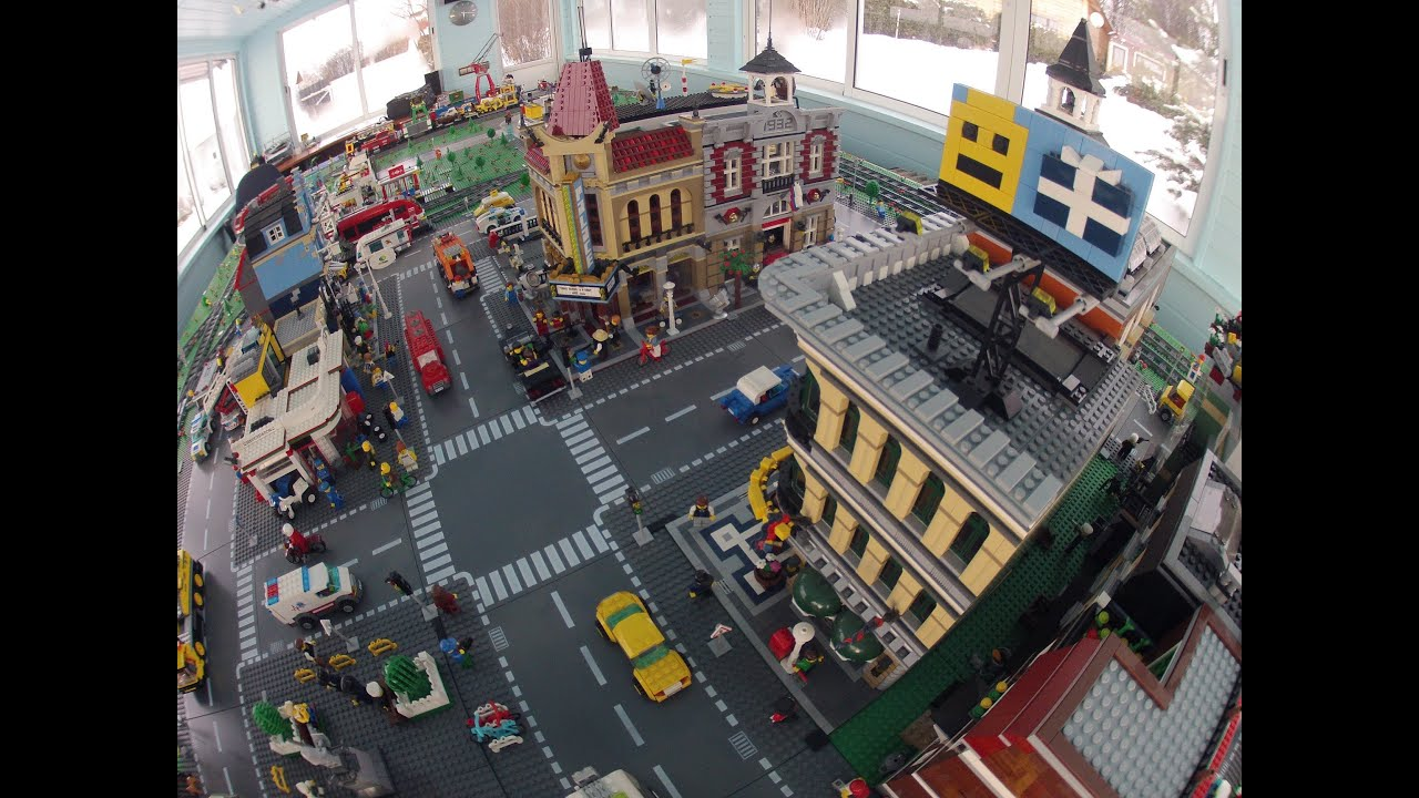 my lego city octan city february 2014 youtube. Black Bedroom Furniture Sets. Home Design Ideas