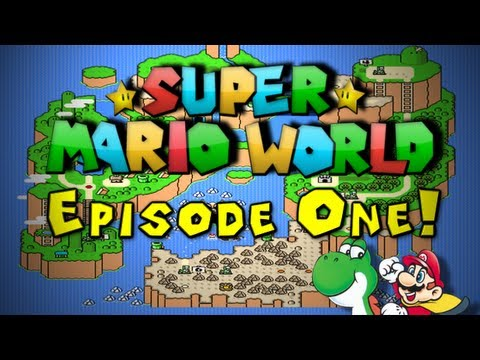 Caveman Plays - Super Mario World! [Ep. 1]