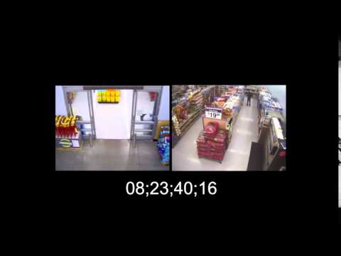 Walmart surveillance video shows shopper John Crawford III 'swatted' while talking on phone