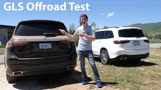 Mercedes-Benz GLS (X167) Offroad Test / Komfortabler kann man sich nicht dreckig machen - Autophorie