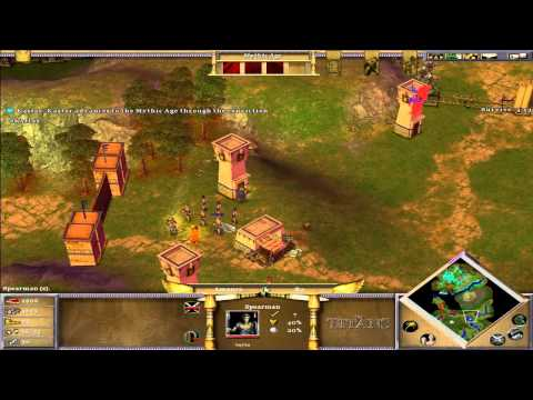 Age Of Mythology The Titans - Mission 7 - Betrayal At Sikyos