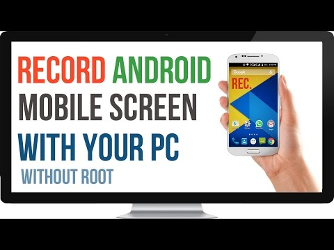 How to Mirror/Record Android Mobile Screen with Computer[No Root]
