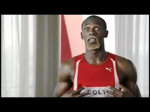 Usain Bolt Virgin Media Advert 2012