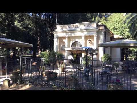 Pincio, Via Veneto e Villa Borghese