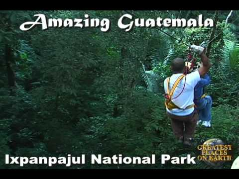 Ixpanpajul National Park Peten Guatemala