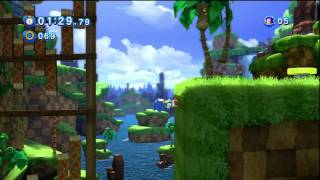 "Sonic Generations: Sonic 4 ""Easter Egg"""