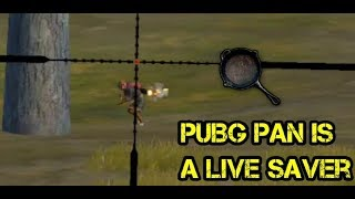 AWM bullet Stopped by PUBG Pan| Epic ending|Playing With Friend.