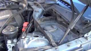 BMW Brake Fluid Resevoir Location 5 Series E60 DIY Micro Filter Housing Removal