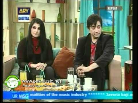 Ahmed Jahanzeb Sang Live Tumhare Hai on Morning Show l 1.05....
