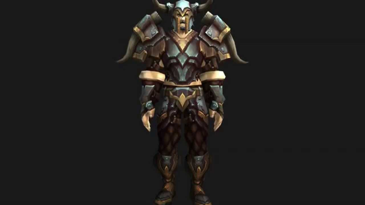 Plate Armor Wow Plate Quest Armor Frostwolf