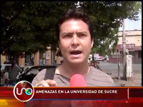 Amenazas en la Universidad de Sucre