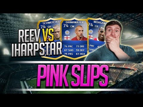 HUGE TOTS PINK SLIPS! LCFC TEAM OF THE SEASON WAGER vs iHarpstarHD! - Fifa 14 Ultimate Team