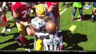 Clay Matthews might become Villain No. 1 in San Francisco with late hit on Colin Kaepernick