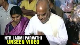 Sr NTR Unseen Rare Video With Laxmi Parvathi | #NTR | Filmylooks