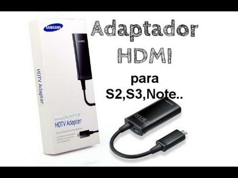 Adaptador HDMI Samsung - Unboxing y Análisis