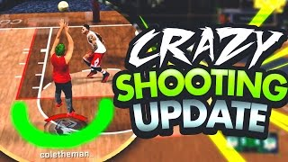 RIP PLAYMAKERS 😱NEW SHOOTING UPDATE MADE MY SHOT CREATOR A GOD! GREEN LIGHTS EVERYTIME 100% 2K17!