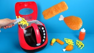 Toy Kitchen My Deep Fryer from Play Go | Speelgoed uitpakken