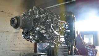 Radial Engine Startup Pratt & Whitney R985 (Wasp Junior)