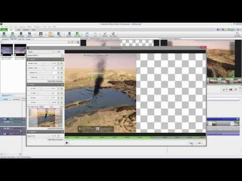 Videopad Video Editor (3.xx) Free Split-screen Tutorial [deutsch] video