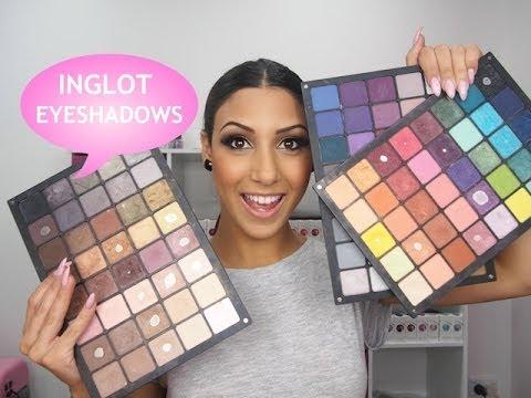 Inglot Eyeshadow Palettes!!!!