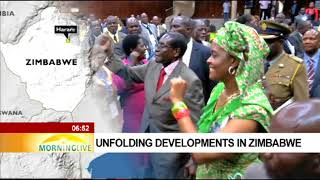 Unfolding developments in Zimbabwe