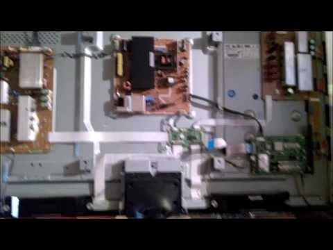 Linea negra Horizontal Plasma Tv 51 Samsung Serie 4