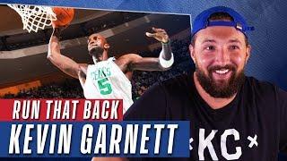 Top 10 Kevin Garnett Dunks   Reactions