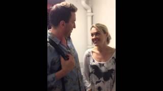 Lee Mack & Sally Bretton video message.