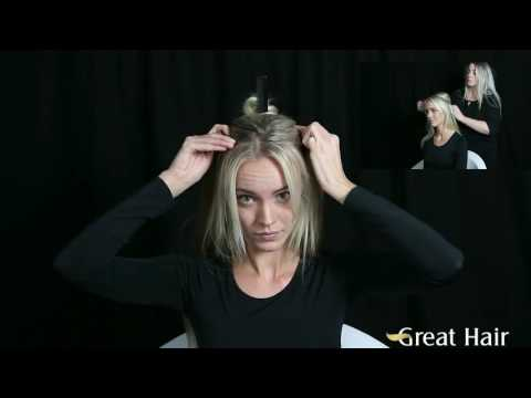 How-to - Great Hair One Minute - Miracle Wire Flip In
