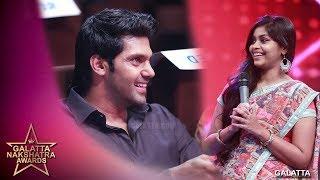 Arya vai vetkapada vaitha RJ Maha   Galatta Nakshatra Awards