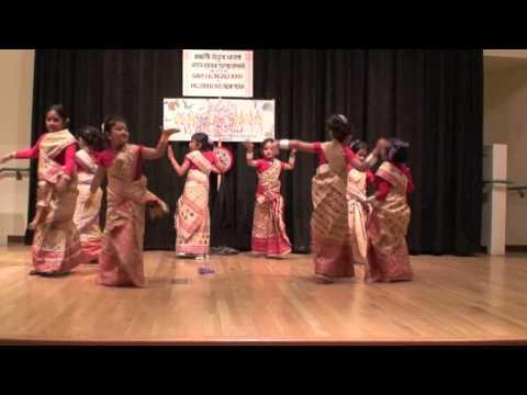 Kids Bihu Dance - Bihu 2009 video