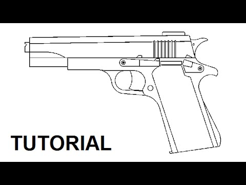 Tutorial - blowback rubber band gun