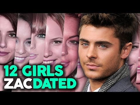 "12 Girls Zac Efron Has ""Dated"""