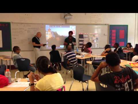 Apprenticeship Pitch at Neal middle school