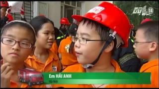 Hướng dẫn trẻ thoát hiểm khi xảy ra hỏa hoạn