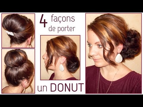 ✿ 4 coiffures avec un donut ✿ | L.A Hairstyle Inspiration