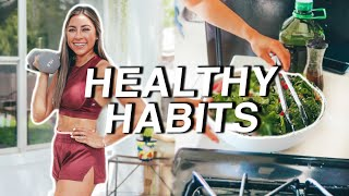 8 Healthy Habits to Stay Fit, Lose Weight, & Feel Better!