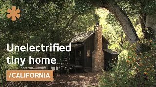 Thoreauvian simple living: unelectrified, timeless tiny home
