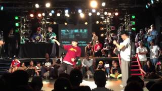 Groove line 2015 2on2 Mo'higher(Hoan Jaygee) vs Funky Fang(Hiroto Nema)