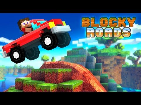 Blocky Roads APK Cover