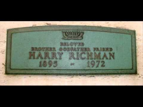 Harry Richman - The Birth Of The Blues 1926 Vocalion Aeolian Slideshow
