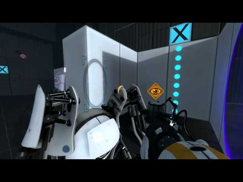 Portal 2 Co-Op! - Part 1 -lDeWftrkICE