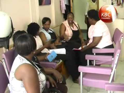 KBC BIZWEEEK - MOBILE BANKING BY MICROFINANCE IN KENYA  KEEF_xvid.avi