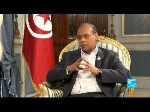 Moncef Marzouki, président tunisien