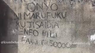 """Jol Master na kiumbe hai """"USIPO CHEKA NAKURUDISHIA MB"""