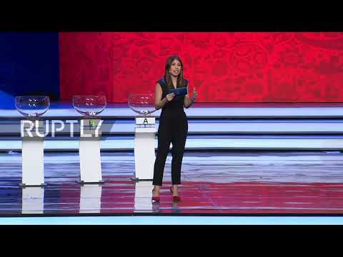 Russia: Forlan lends a hand at World Cup draw rehearsal in Moscow
