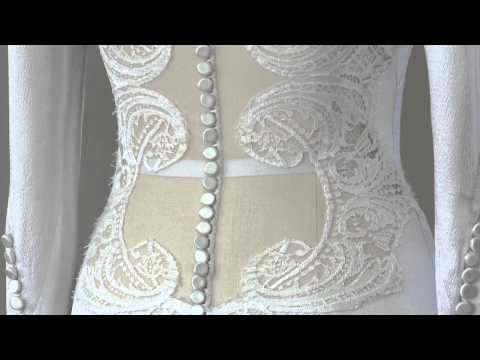 The Twilight Saga: Breaking Dawn: How Bella s Wedding Dress was made