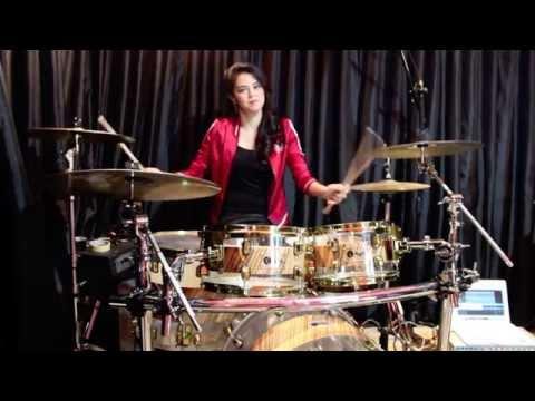 Animals - Maroon 5 (Drum Cover) - Rani Ramadhany ft. Handy Salim