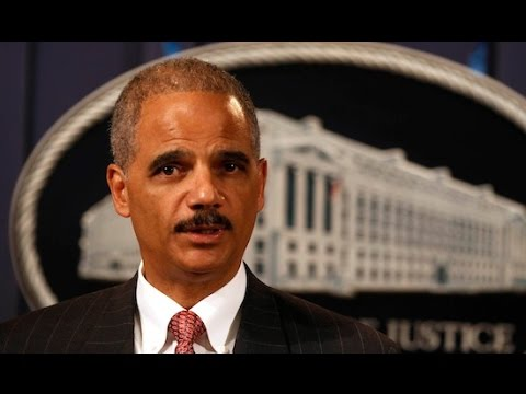 Eric Holder Rips The Death Penalty