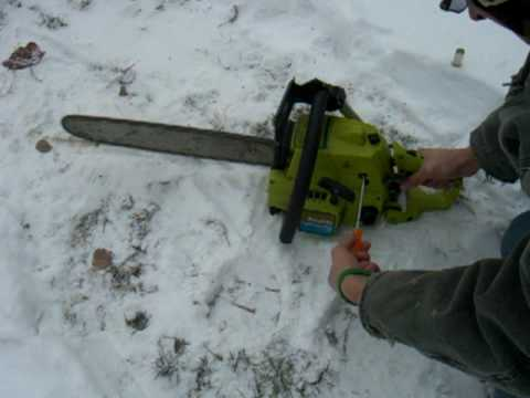 how to tune a chain saw carb